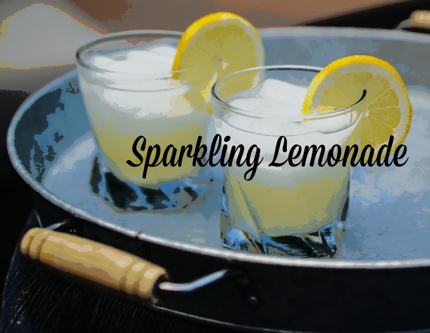 Sparkling Lemonade is a fresh, family friendly drink with freshly squeezed ripe lemons, sugar and sparkling water. It's a magical addition to any day.