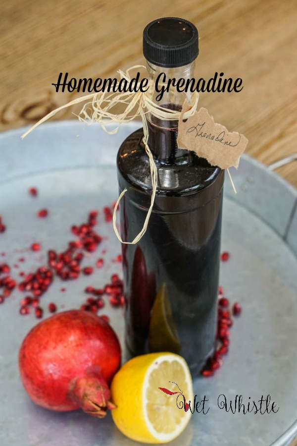 Homemade grenadine can be used in all sorts of cocktails as well as fun drinks like a classic Shirley Temple!