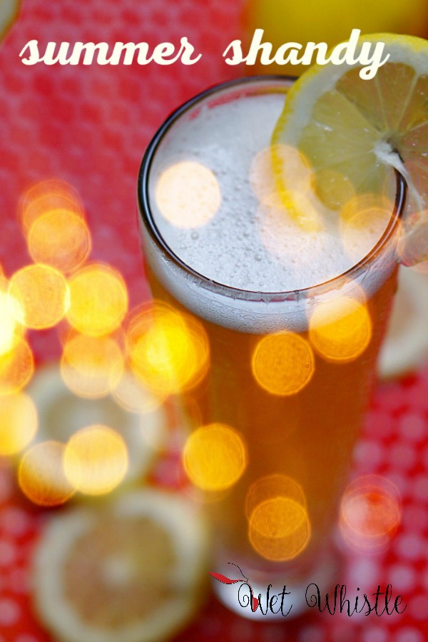 A perfect Summer Shandy is made with fresh squeezed sparkling lemonade and a tasty lager. The sun is shining the days are warm and you aren't sure if you'd like a tall glass of lemonade or an icy beer. The most refreshing drink of the summer is the summer shandy.