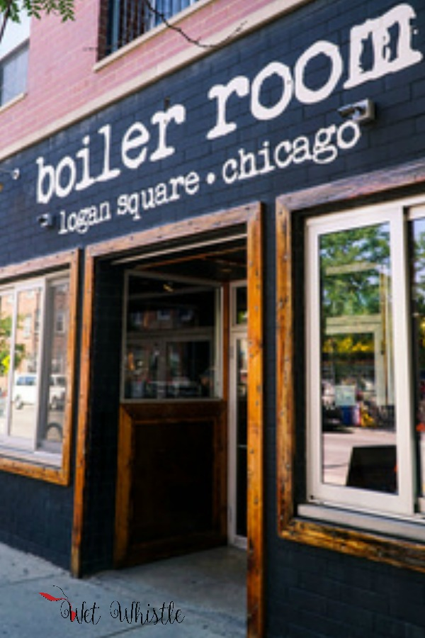 The Boiler Room Chicago is a locals place that welcomes everyone. Grab a pizza, a cocktail, a beer, and a shot of Jameson whiskey!