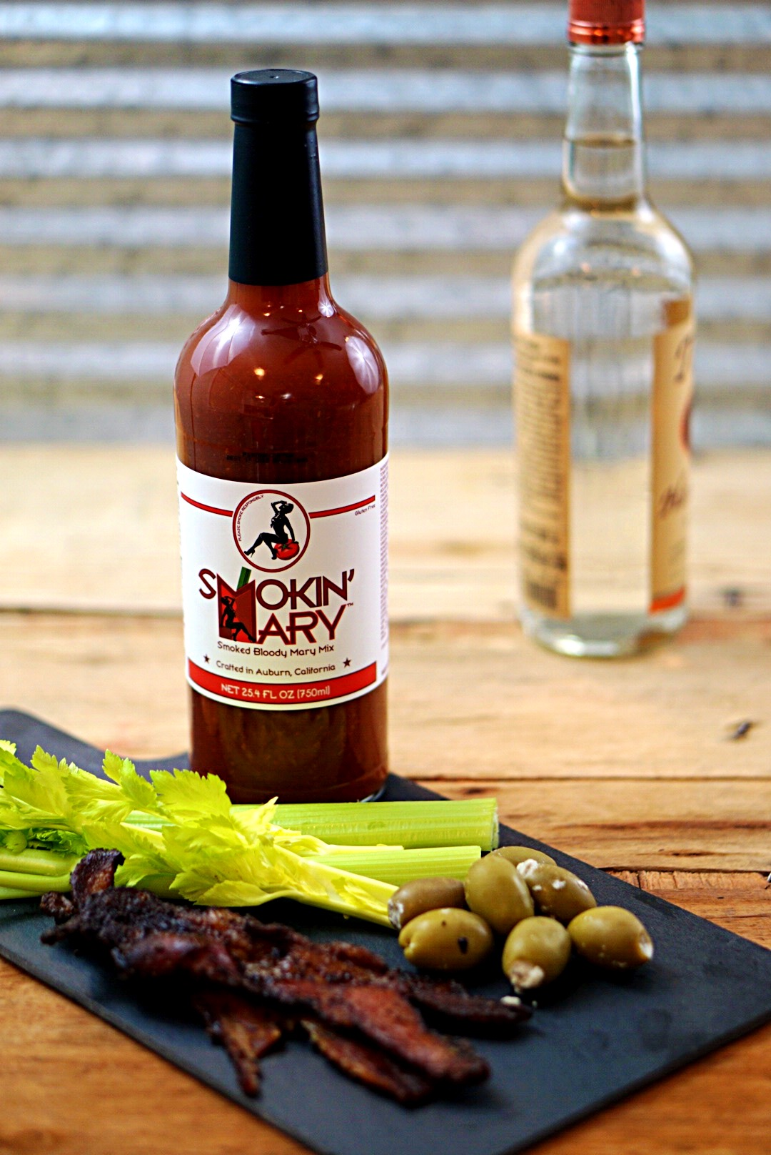 The world is falling in love with Smokin' Mary Bloody Mary Mix! It has layers of rich, smokey, perfectly spiced, flavors that come alive in your mouth! By Wet Whistle Drinks by Darla Bentley