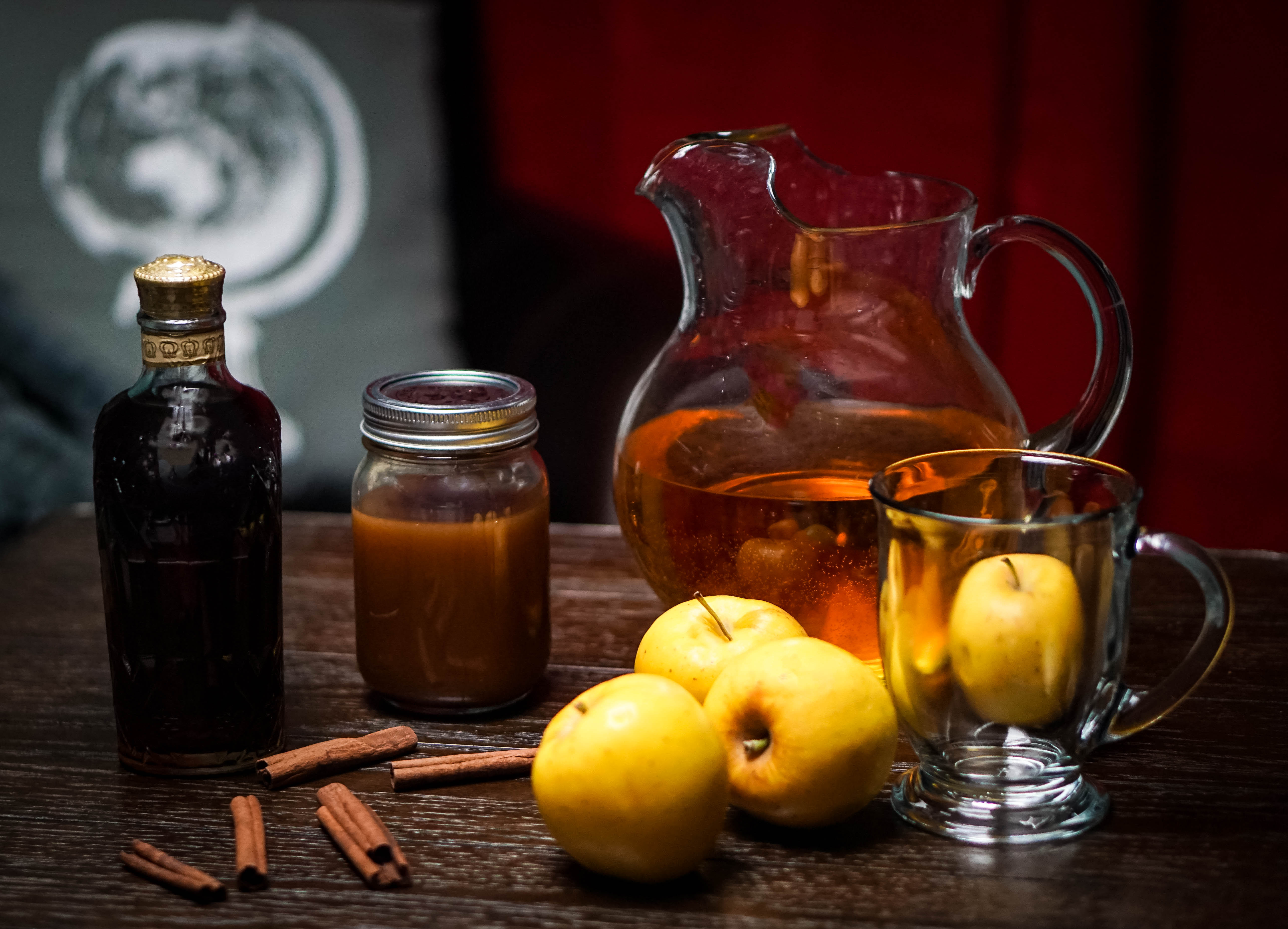 There's nothing like a steamy, Caramel Apple Whiskey Toddy to warm your bones during the cold winter months. Wrap your hands around the mug and enjoy!~By Wet Whistle Drinks by Darla Bentley